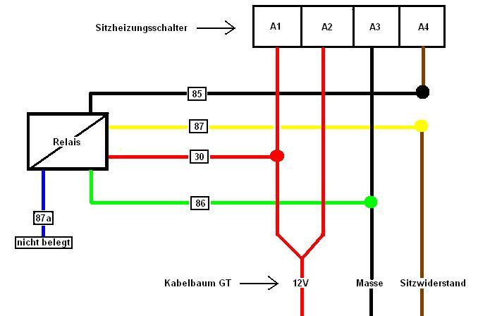 Ziemlich Wie Relais Zu Verdrahten Galerie - Die Besten Elektrischen ...